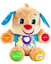 Fisher Price Интерактивная игрушка Умный щенок, украинский язык, (FPN91)