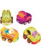 Battat Игровой набор Забавный автопарк (4 резиновые машинки-погремушки), (BX1048Z)