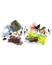 WING CROWN Набор Домашние животные Познай мир, 5 см, (D33702)