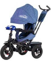 baby tilly Велосипед трехколесный CAYMAN с пультом, синий, (Т-381/2 Синий)