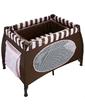 Wonderkids Манеж-кроватка HoneyBee шоколадный, (WK23-H52-001)