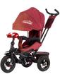 baby tilly Велосипед трехколесный CAYMAN с пультом, красный, (Т-381/2 Красный)
