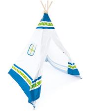 Hape Toys Детская игровая палатка Вигвам, (синий), (E4308)