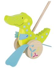 goki Игрушка-толкатель Крокодил, (54911G)