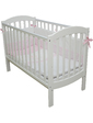 Veres Детская кроватка Соня ЛД10, без маятника, без колес, на ножках, белый, (10.1.1.1.06)