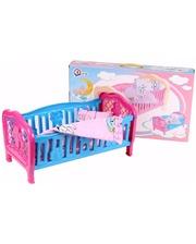 Технок Кукольная кроватка (5 дет., постель), (4494)