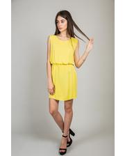 Летнее платье свободного кроя - желтый цвет, M (есть размеры)