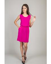 Летнее платье свободного кроя - розовый цвет, L (есть размеры)