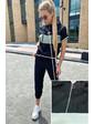 Летний спортивный костюм уцененный PERRY - мятный цвет, M (есть размеры)
