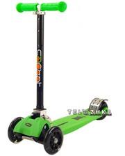 ScooteX Scooter Metaltech усиленный зеленый