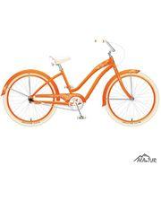 "FELT Cruiser Claire 26"" tangerine 3 spd"