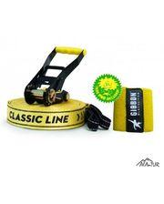 Gibbon CLASSICLINE X13 TREE PRO SET 15 m Slackline Set yellow