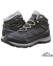 Ботинки Salomon KAINA CS WP 2 BLACK/ASPHALT/FLAS
