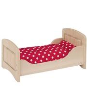 Кроватка для кукол goki натуральная 51701G