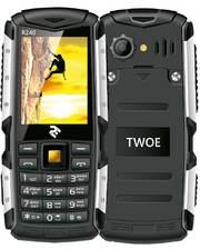 2E R240 Dual Sim Black