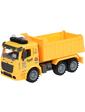 Same Toy Truck Самосвал желтый со светом и звуком 98-614AUt-1