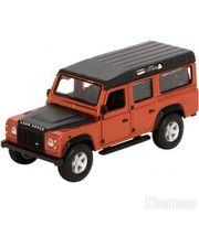 BBURAGO Land Rover Defender 110, коричневый металлик, 1:32 (18-43029-1)