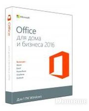 Microsoft Office Home and Business 2016 32/64 Russian DVD P2 (T5D-02703)