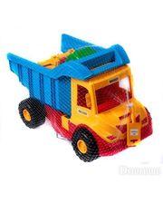WADER Грузовик с трактором (желтый-синий), (39219-3)