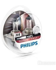 Philips H4 12342VPS2 Vision Plus Blister