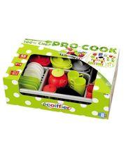 Ecoiffier Набор посуды Pro-Cook, с сушилкой (001210)