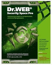 Dr.Web Security Space PRO v.5 box, 32-bit, 2ПК, 2 Года