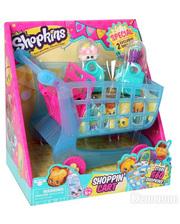 Shopkins S3 - ТЕЛЕЖКА (2 шопкинса, 2 эксклюзивные сумочки) (56064)