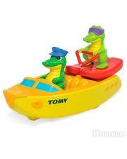 Tomy Крокодил на водных лыжах (T72358)