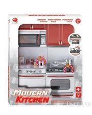 Qun Feng Toys Кухня Маленькая хозяюшка, красная, набор №2 (26213)