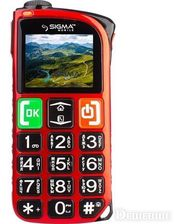 Sigma mobile mobile Comfort 50 Light DS red