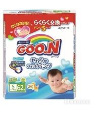 GOO.N для активных детей 5-9 кг (размер S, 62 шт) (753710)