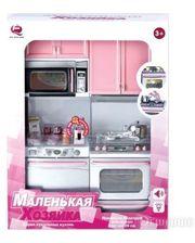 Qun Feng Toys Кухня Маленькая хозяюшка, розовая, набор №2 (26213Р/R)
