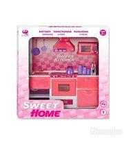 Qun Feng Toys Кухня, 6 предметов, розовая (2559Р)