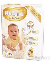 HUGGIES Elite Soft 3 Mega 80 шт. (5029053545295)