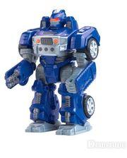HAP-P-KID Робот-трансформер М.А.R.S. (синий), (4040T-4043T-2)