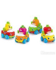 Huile Toys Машинка Тутти-Фрутти (комплект из 4 шт) (356A-X)