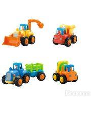 Huile Toys Грузовичок (комплект из 4 шт) (326)
