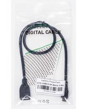 PowerPlant OTG USB 2.0 AF - Micro, 0.5м