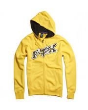 FOX Up Against Zip Front Fleece Yellow M