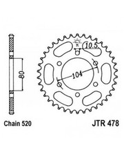 JT SPROCKETS Звезда задняя JT JTR478.46ZBK