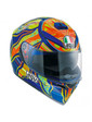 AGV K-3 SV Top Five Continents Orange-Green-Blue ML