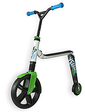 Scoot&Ride Highway Gangster бело-зелено-голубой