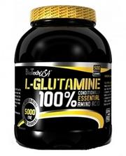 BioTech 100% l-glutamine 500 г