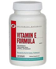 Universal Nutrition Витамин Е Universal Vitamin E - 400 (100 капсул)