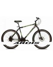 "Crossride Flash MTB 24"" черно-зеленый, рама - 18"""