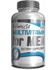 BioTech Multivitamin for Men (60 таблеток) для мужчин