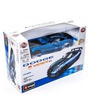 BBURAGO Dodge Viper SRT10 ACR (2008) (голубой металлик, 1:24)