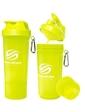 Smart Shake Шейкер 2-х камерный SmartShake Slim 500 мл neon yellow