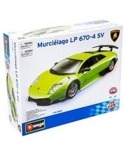 BBURAGO Lamborghini Murcielago LP670-4 SV (зеленый, 1:24)