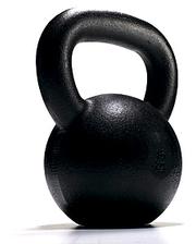 Гиря чугунная 32 кг York (черная)